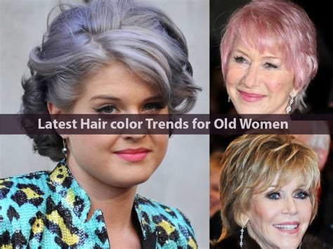 current color trends latest hair color trends for old women hairstyle for women