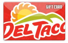 Del Taco E Gift Card - two winners of 20 del taco gift cards