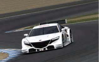 Honda Nsx Concept Gt Honda Previews New Nsx Gt Race Car
