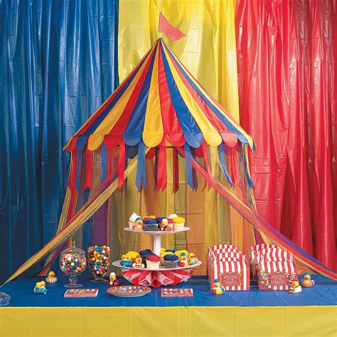Circus Tent Decorations by Big Top Canopy Tent Trading