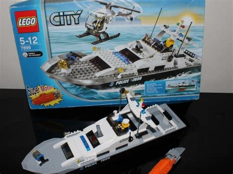 lego boat police 7899 lego city 7899 police boat super motor rescue with box