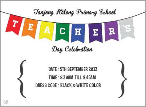 Invitation Letter Format For Teachers Day Tkps Teachers Day Invitation Card On Behance