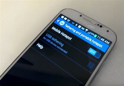 Wifi Portable Samsung how to use the samsung galaxy s4 as a personal hotspot