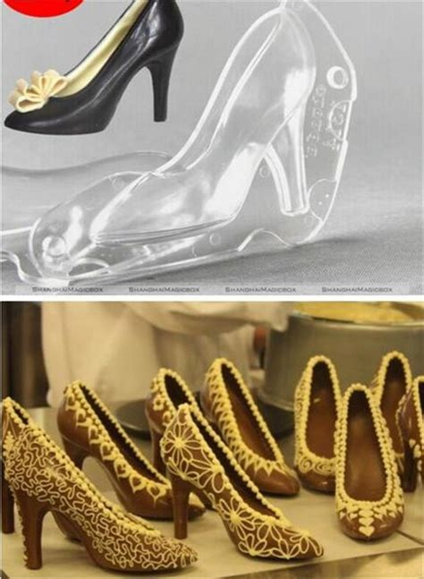 high heel shoe chocolate mold high heel shoe polycarbonate chocolate mold mould