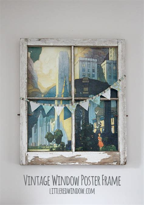 thrifty decorating old windows as wall decor vintage window diy wall art favecrafts com