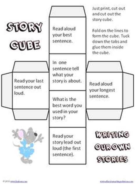 story cube book report story cubes for reading and writing by frase tpt