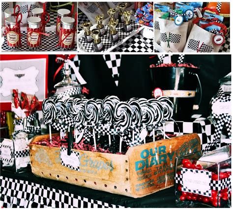 cing themed decorations let s plan a cars cafemom