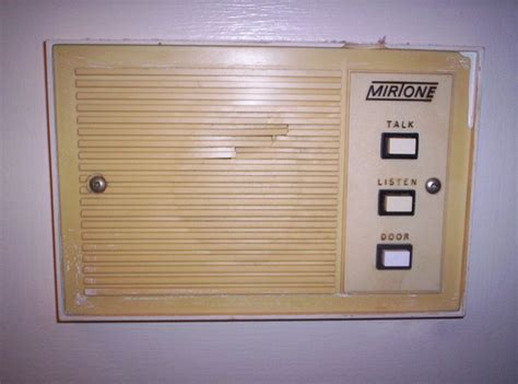 house intercom system 1980 s mirtone intercom system stop kiss pinterest intercoms