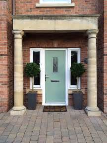 Composite Front Doors by New Composite Front Door In Chartwell Green Fitted By