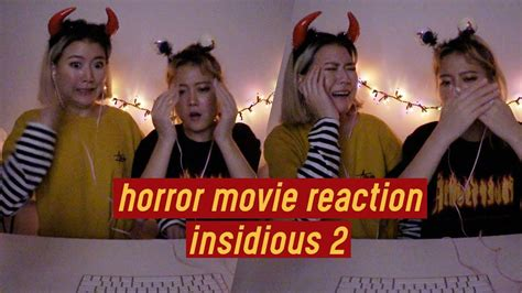 film insidious 2 youtube horror movie reaction 1 insidious 2 q2han youtube