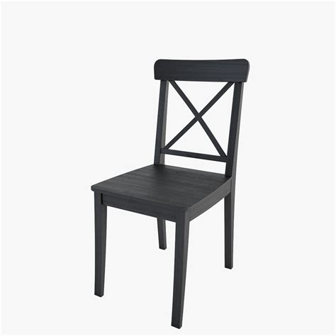 ikea ingolf bench ikea ingolf chair 3d model