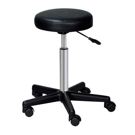 Hair Roller Diameter 35cm pro hairdresser stool work stool friseurhocker black