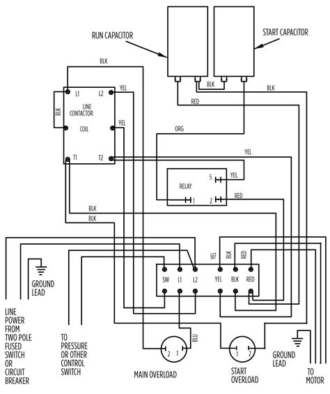 2 wire submersible well wiring diagram submersible well wiring diagram wiring diagram and