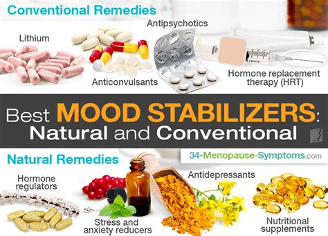 best medication for mood swings best mood stabilizers natural and conventional