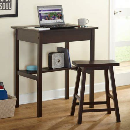 Writing Desk With Stool by Lincoln Writing Desk And Saddle Stool Value Bundle