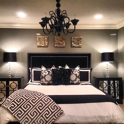Black And Grey Bedroom Curtains Decorating Shegetsitfromhermama S Bedroom Is Stunning With Our Kate Headboard Calais Chandelier Mykonos