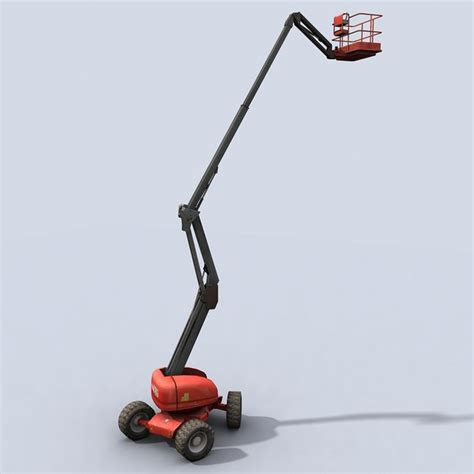 Cherry Picker Machine by 3d Model Cherry Picker