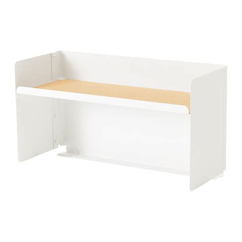 Desk Top Shelving by Bekant Desktop Shelf White