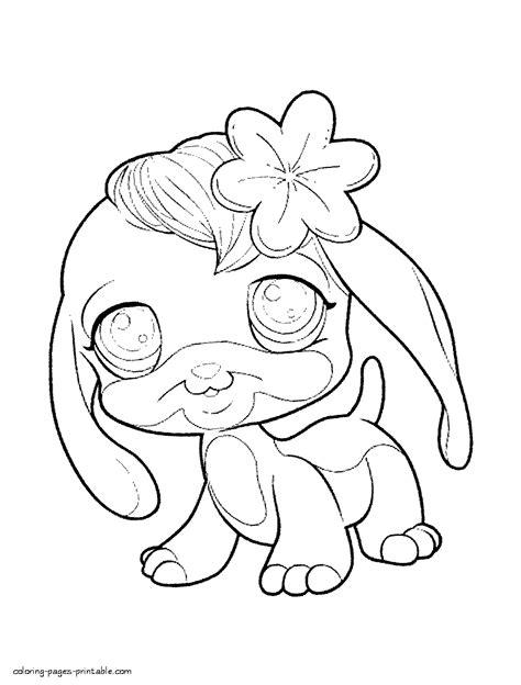 lps coloring pages dog littlest pet shop coloring pages free az coloring pages