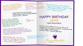 What To Write In A 4 Year Birthday Card Jane Odiwe Jane Austen Sequels Happy Birthday Jane Austen