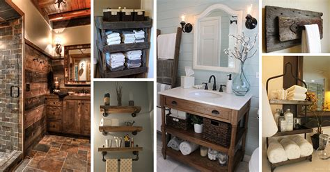 Camp Kitchen Designs 31 Best Rustic Bathroom Design And Decor Ideas For 2018