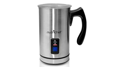 Fujicom Electric Milk Frother Electric Milk Frother And Warmer Groupon Goods