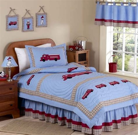 frankie bedroom frankie s fire truck childrens bedding 3pc full queen