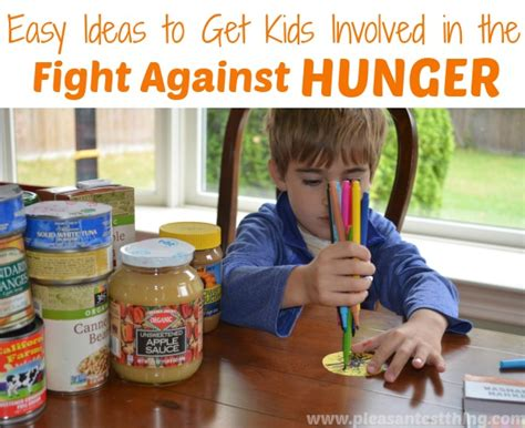 Get Bushs Bag Help Fight Child Hunger by Ways Can Help Fight Hunger Simple Play Ideas