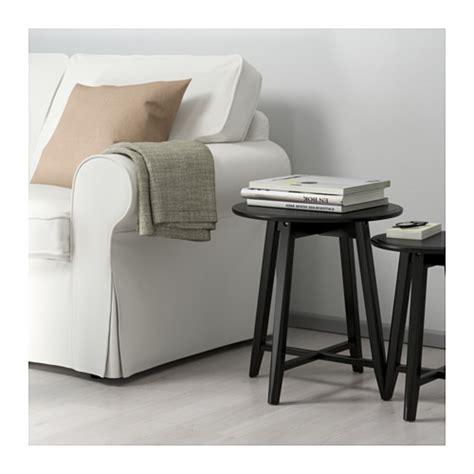 nest chair ikea kragsta nest of tables set of 2 black ikea