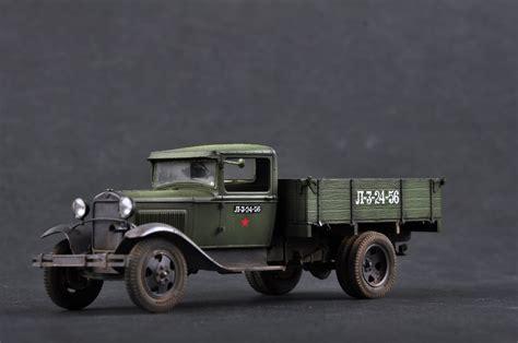 soviet gaz aa cargo truck   hobbyboss