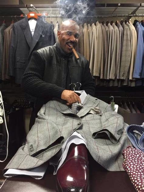 Steve Harvey Wardrobe steve harvey on quot wardrobe day sometimes i go in and out different looks