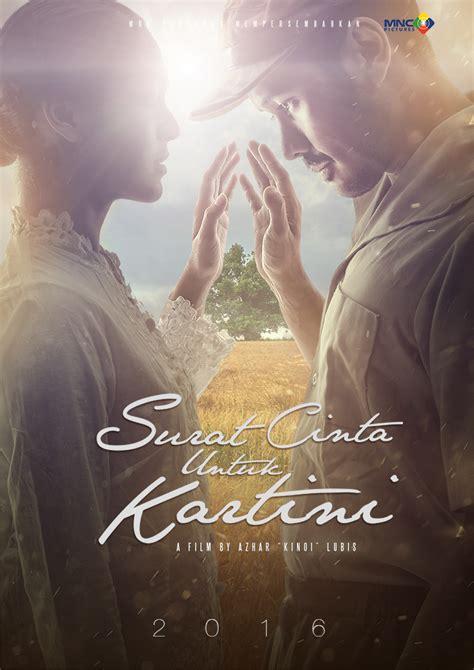 film surat cinta untuk kartini surat cinta untuk kartini perkenalkan teaser posternya