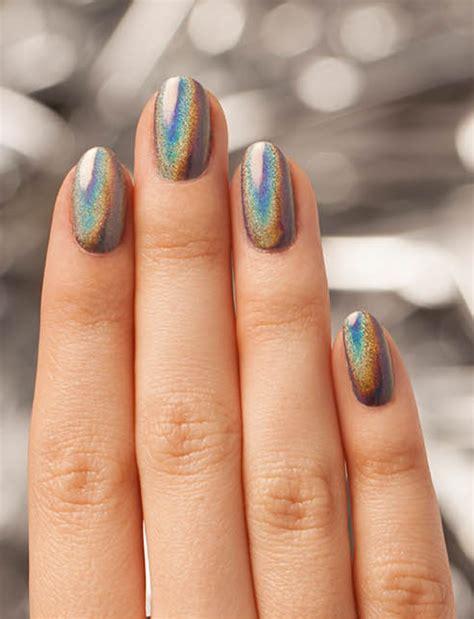 Color Metal Nail chrome nails opi
