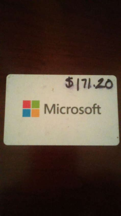 Sell Microsoft Gift Card - letgo microsoft gift card in wilton manors fl