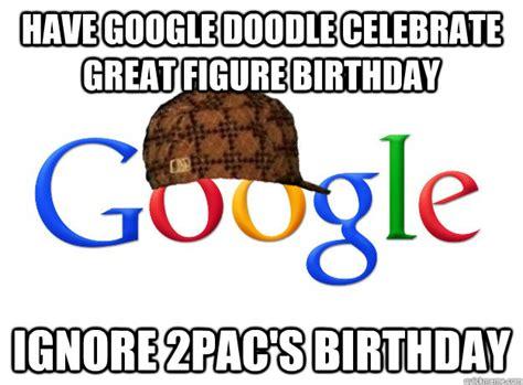 doodle meme doodle celebrate great figure birthday ignore