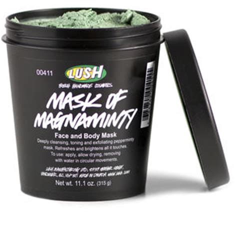 Lush Mask Of Magniminty april mariposa must haves mariposa moment