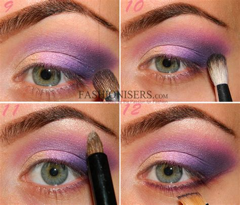 Original 100 Milani Eyeshadow Smokey Essential makeup lilac purple smokey eye makeup tutorial fashionisers