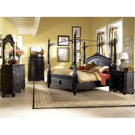 amazon bedroom furniture sets amazon com britannia rose queen poster bedroom set by