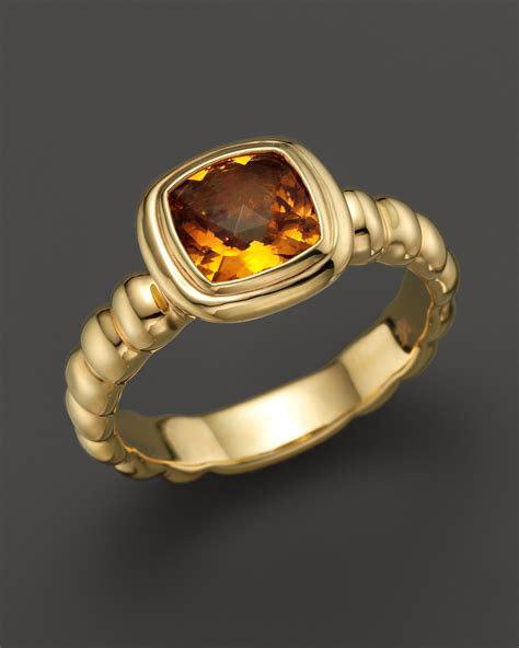 batu yellow citrine hardy batu bedeg 18k yellow gold slim square station