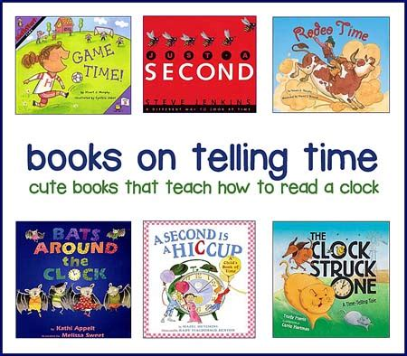 picture books about time teaching clocks and telling time best children s books