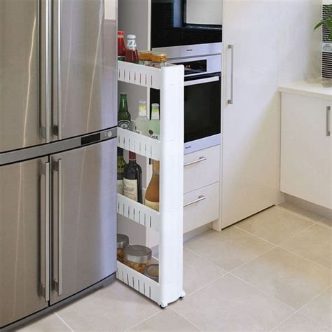 Bathroom Slimline Storage Tower 25 Best Ideas About Kitchen Space Savers On Pinterest Small Kitchen Storage Small Apartment