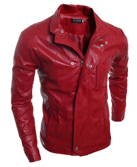 Jaket Kulit Pria Warna Merah jaket kulit domba garut intan kalea leather