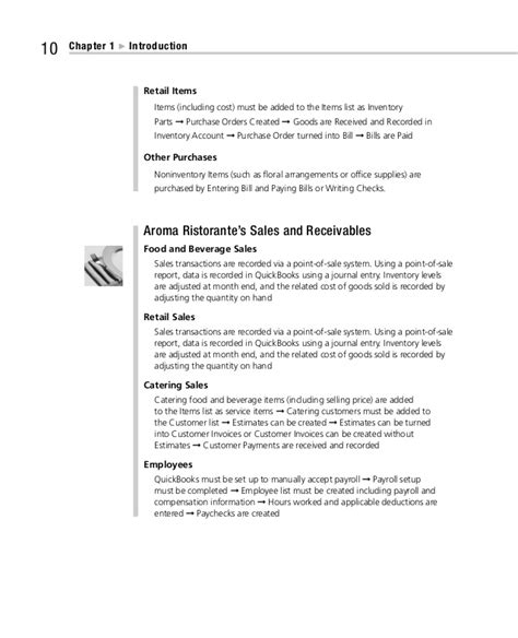 purchasing manual template quickbooks for the restaurant