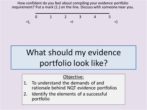 Layout Of A Portfolio Of Evidence | nqt evidence portfolio help by ccking teaching resources