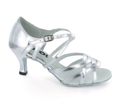 silver patent leather white mesh sandal ls165705