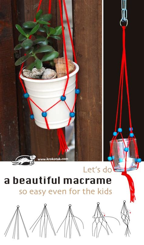 Easy Macrame Projects For - 149 best images about craft summer on