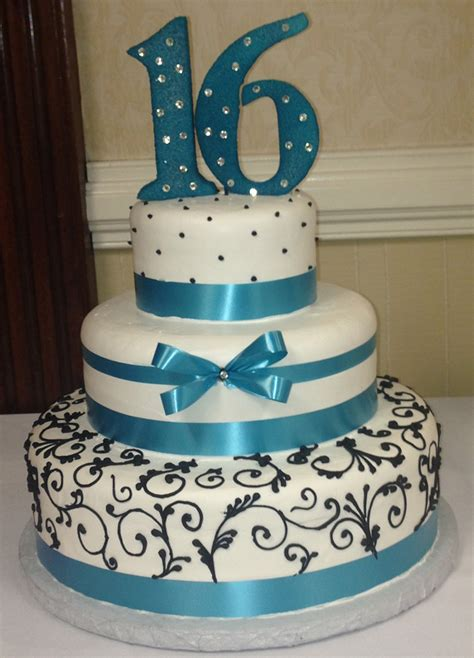 Quinceanera Cakes Gallery by Aprils Cakes Gallery Quinceanera Cake White Black