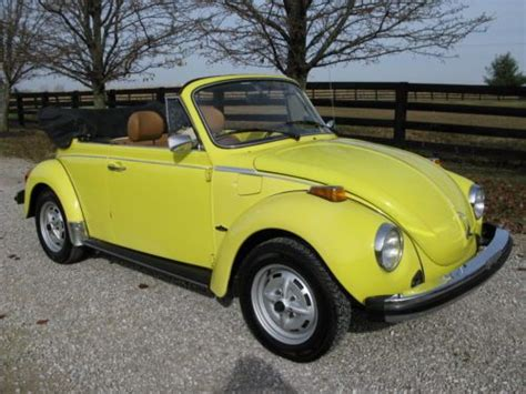 volkswagen lemon purchase new 1962 vw ragtop bug original paint awesome