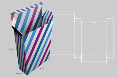 box template generator novelty and chevron generate custom box templates