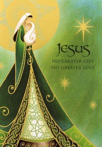 catholic christmas image  rosemarie  gentle woman quiet light catholic christmas cards
